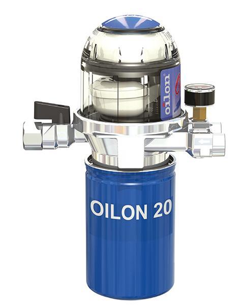 Oilon Plus -suodatus- ja ilmanpoistolaite