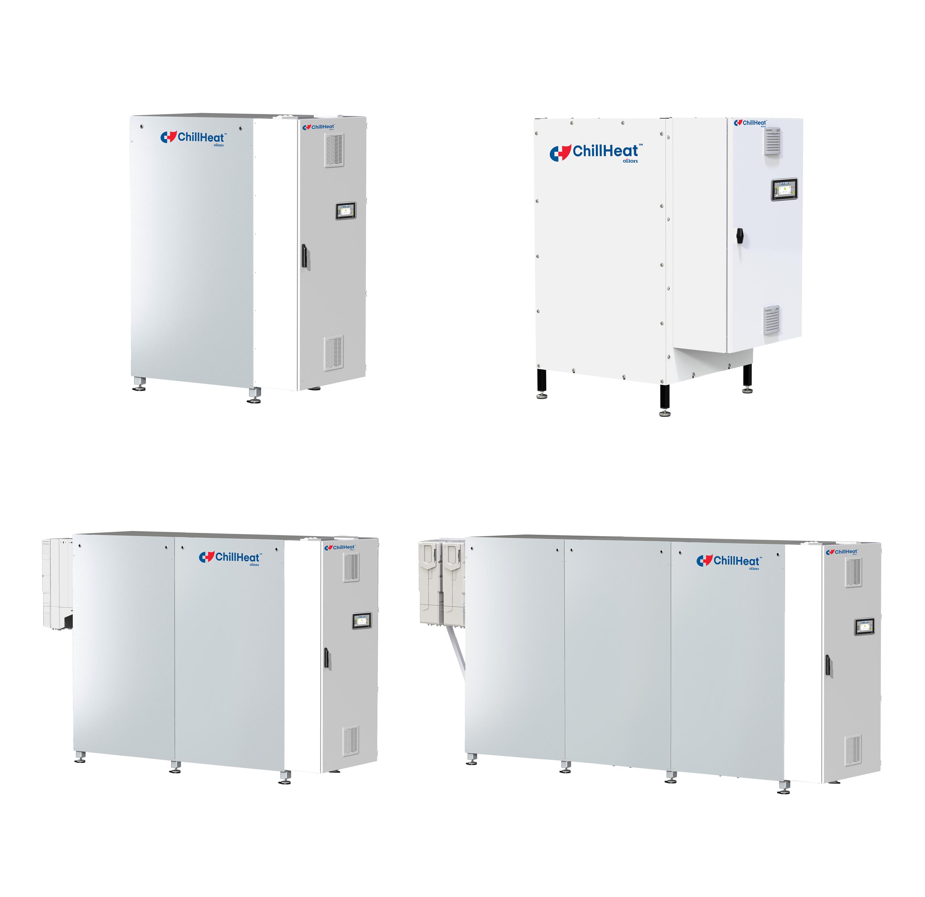 ChillHeat P serie heat pumps