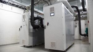 Industrial Heat Pumps in Lidl Helsinki